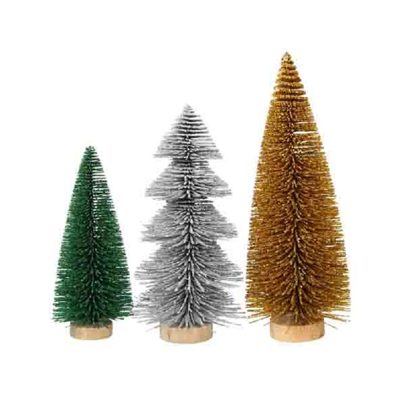christmas tree in a box glitter 3pcs - Christmas Tree In A Box