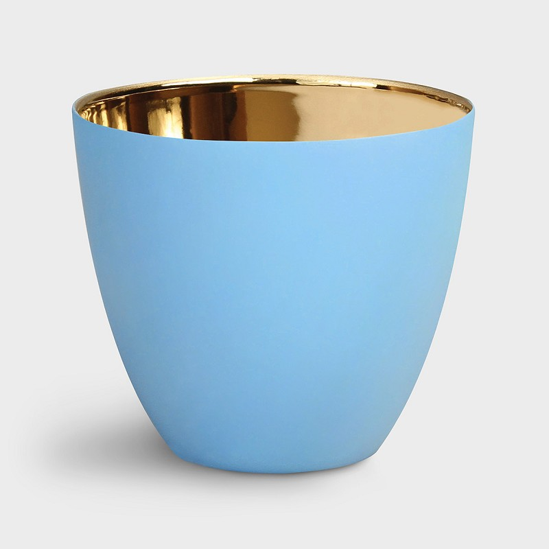 Tealight gold azure large