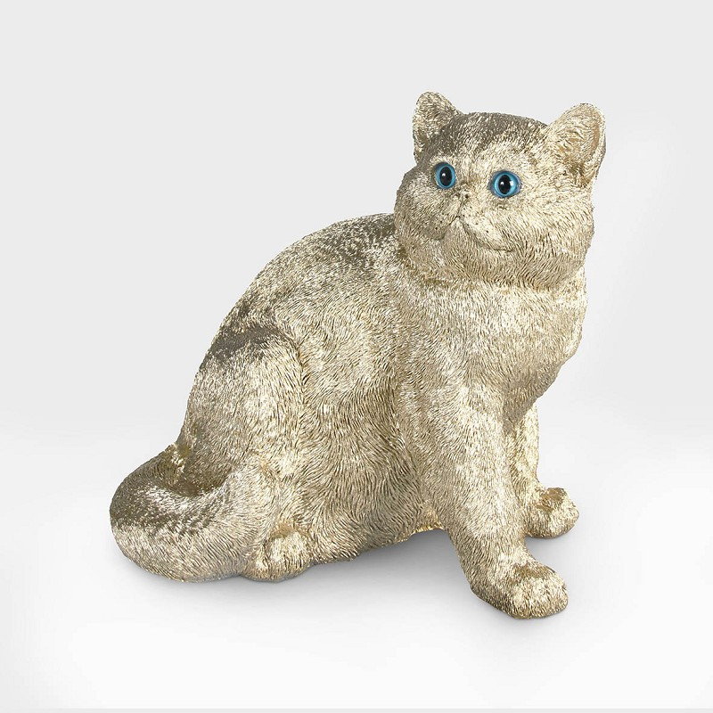 Coinbank exotic shorthair gold