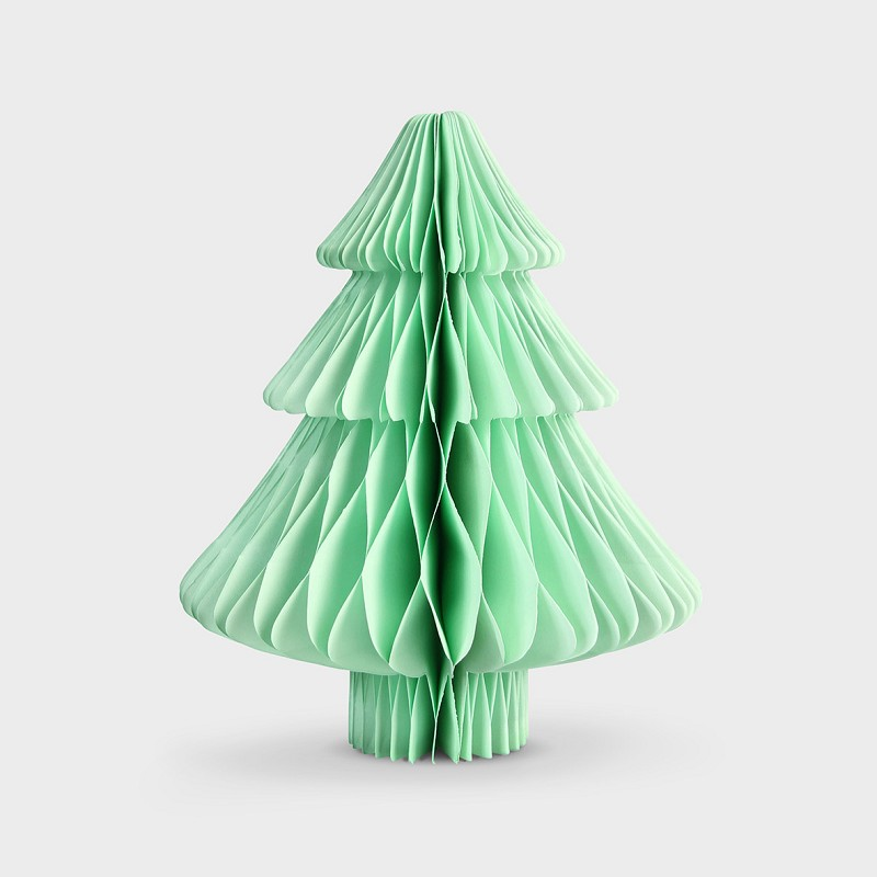 Christmas tree paper small mint