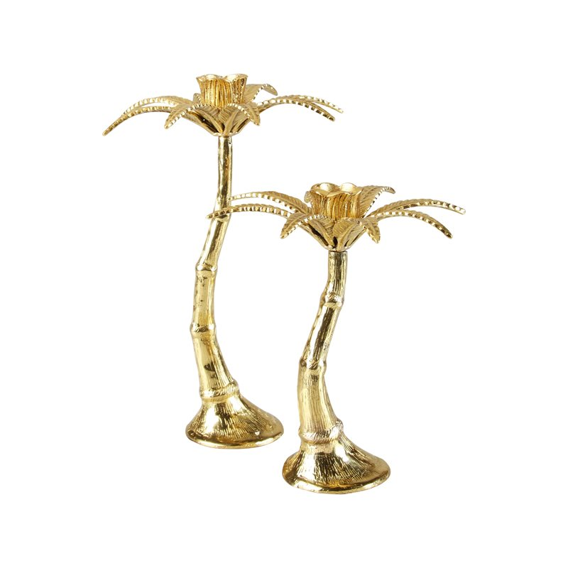 Palm tree candle holder best candle 2018 holder in bonita springs fl heaven scent flowers golden palm tree candle holder palmen blatt goldener kerzenhalter palm tree candle holders set of 3 mightylinksfo